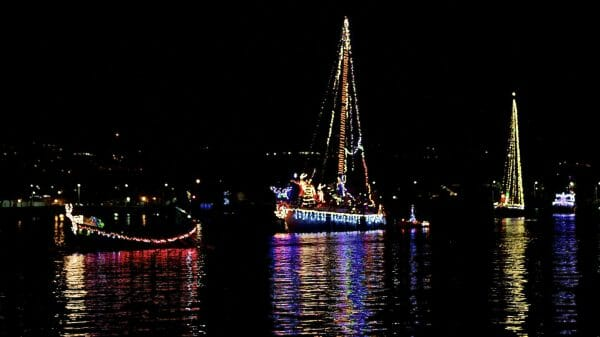 2017 Lighted Yacht Parade @ Jack London Square