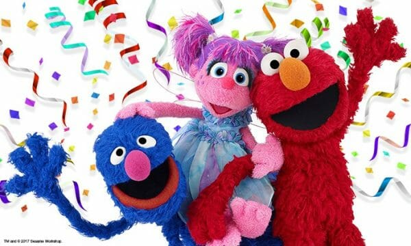 Sesame Street Live! Let's Party! tour coming to the Bay Area, Jan 4-7, 2018.
