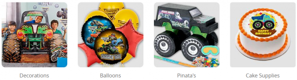 Get Your Monster Jam Party Supplies