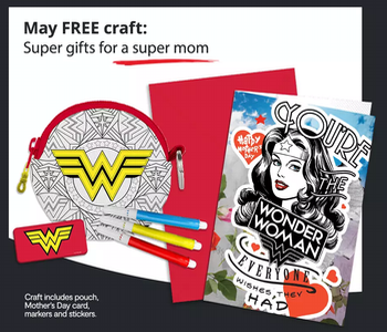 Free JC Penney Kids Zone Craft May Mother's Day