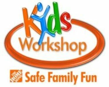 Free Home Depot Kids' Workshop | Online