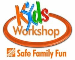 Home Depot Free Kids' Workshops Schedule for 2021
