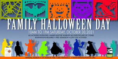Randall Museum Family Halloween Day