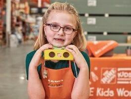 Free Home Depot Kids' Workshop 3/7: Make A Set of Binoculars