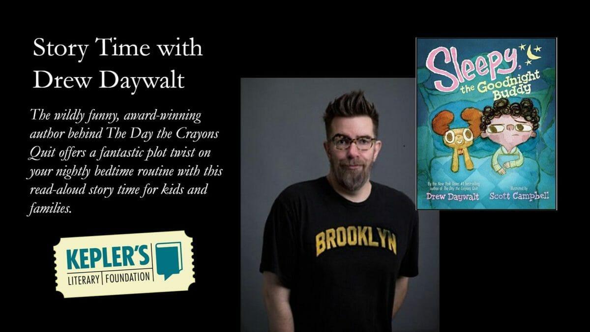 StoryTime with Drew Daywalt at Keplers | Online