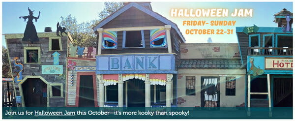 Children's Fairyland Halloween Jam October 22 - October 31 2021