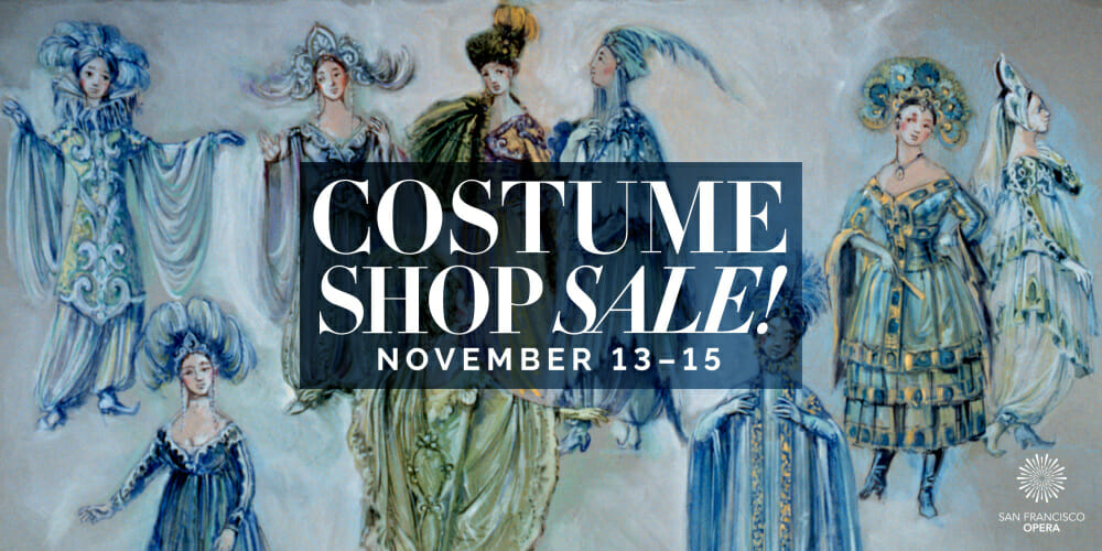 San Francisco Opera Online Costume Sale