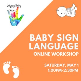 Baby Sign Language Online Workshop Redwood City Library Online