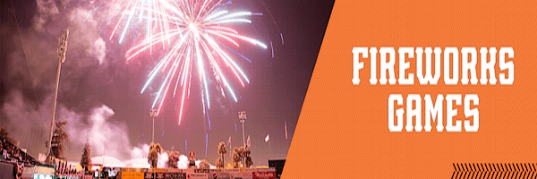 Fireworks Games at San Jose Giants