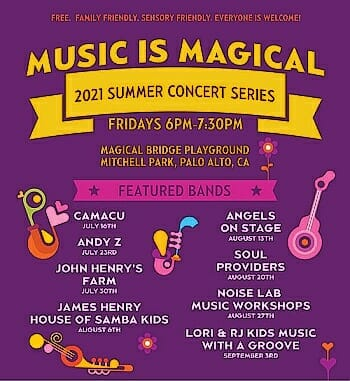 The Music is Magical Summer Concert Series