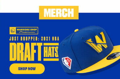 GS Warriors 2021 Draft Hats