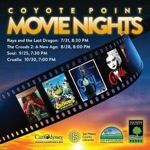 Coyote Point Movie Nights CuriOdyssey