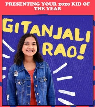 Kid of the Year Gitanjali Rao