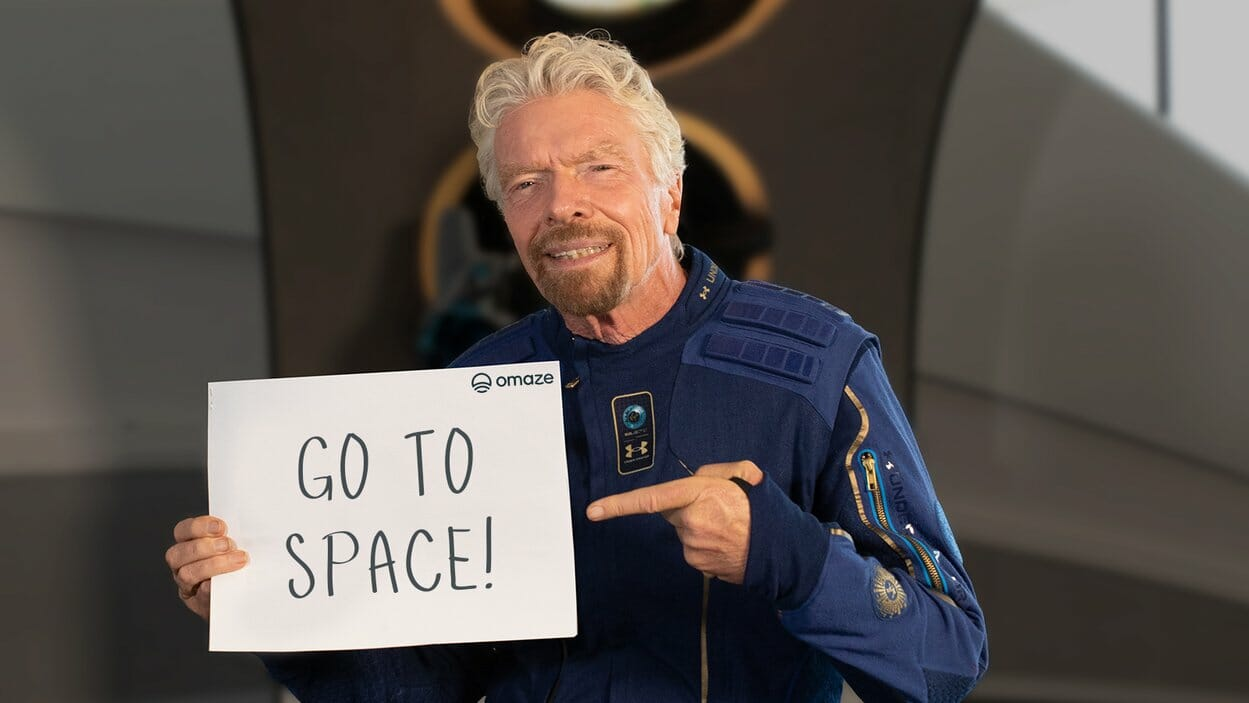 Win One of the FIRST Virgin Galactic Flights