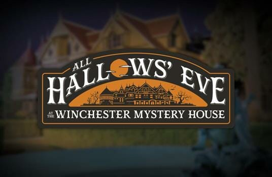 All Hallows Eve at Winchester Mystery House