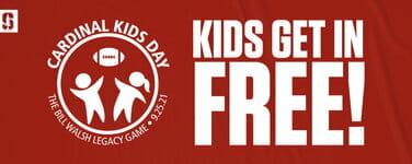 Free Stanford Football Tix   Cardinal Kids Day