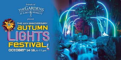 Autumn Lights Festival The Gardens at Lake Merrit.